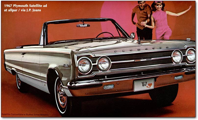 1967 plymouth satellite cars