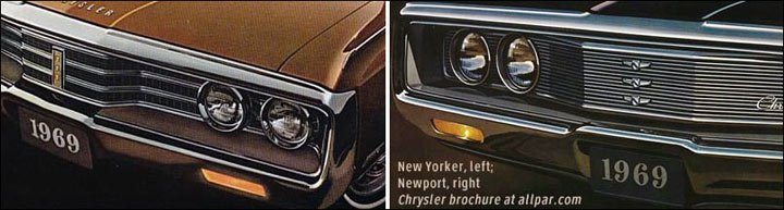 1969 chrysler emblems