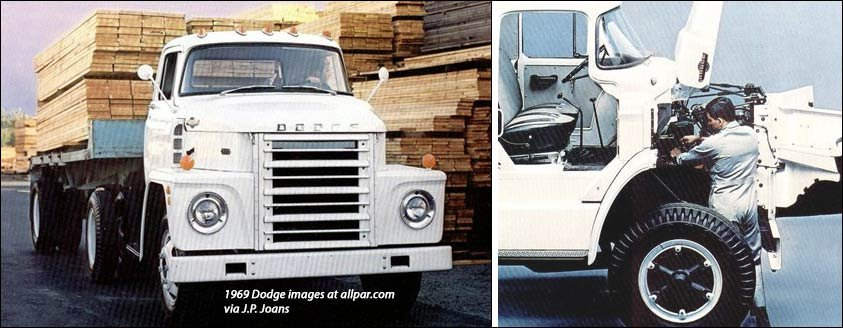 1969 dodge LCF trucks