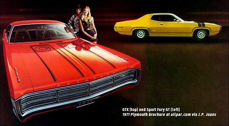 1971 Plymouth Fury GT