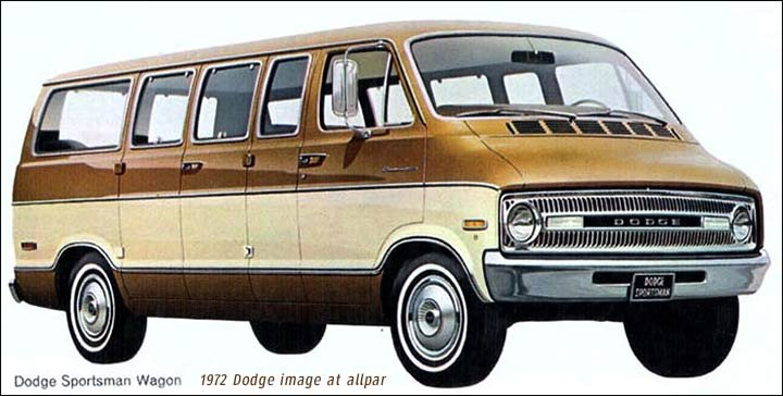 Dodge B Series Vans Ram Van And Wagon