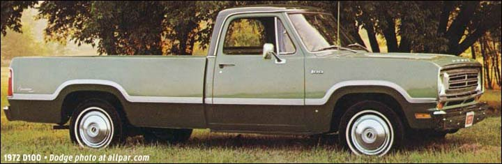 Dodge D Series Pickups 1972 1980 Newer And Tougher