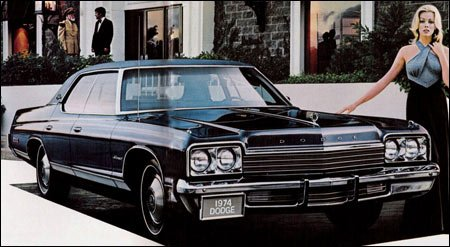 Dodge Monaco: the near-luxury (then midsize) cars of the 1960s and