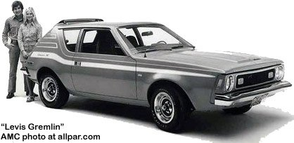 the gremlin amc s oddly named oddly styled oddly successful compact
