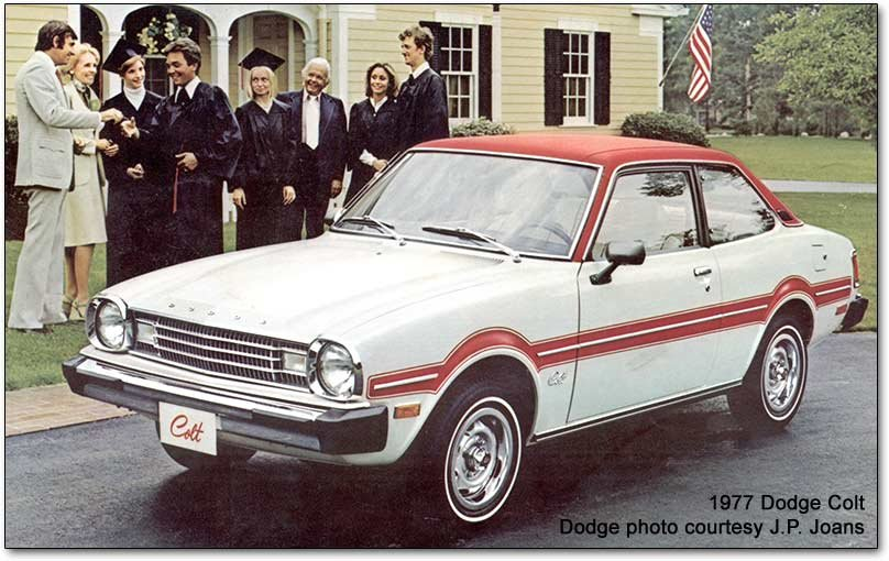 Dodge Colt / Plymouth Champ: Mitsubishis in Mopar trim on