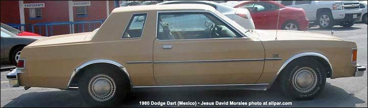 1980 Dodge Dart for Mexico