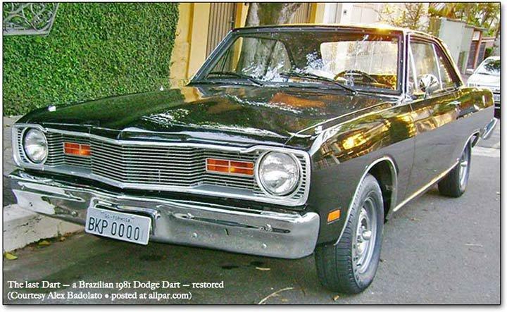 1981 Dodge Dart