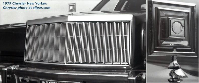 1980 Chrysler cars: LeBaron, Newport, New Yorker, Cordoba