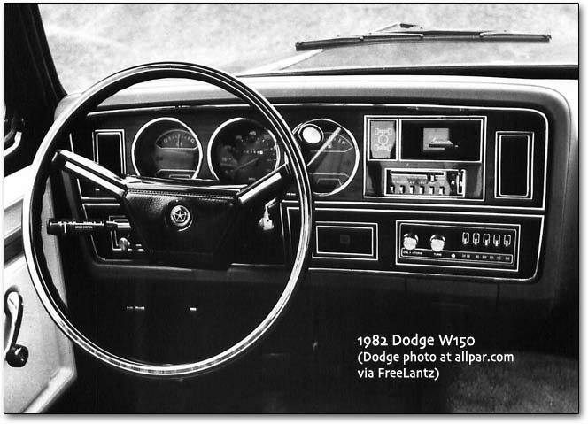 History of the Dodge Pickups and A-Series Dodge Trucks, 1981-1993