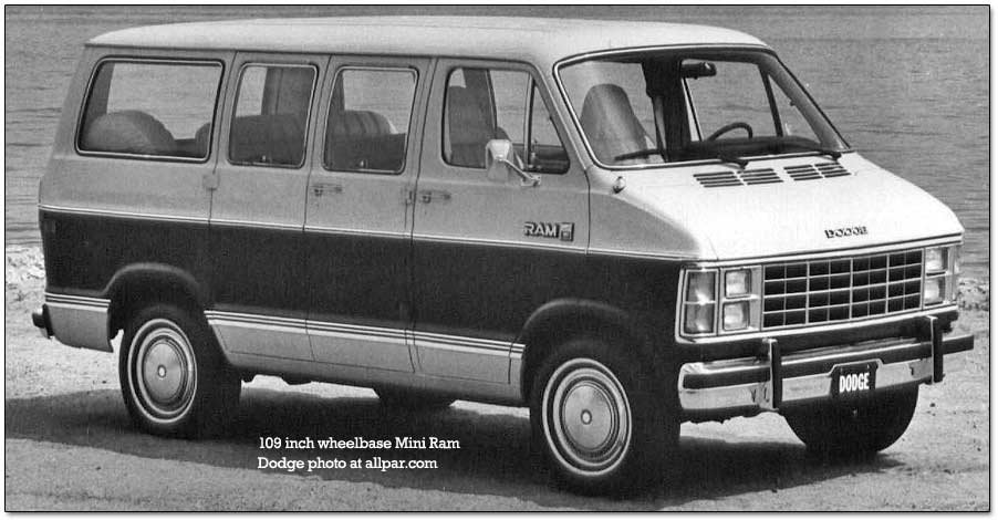 1983 Dodge trucks and vans