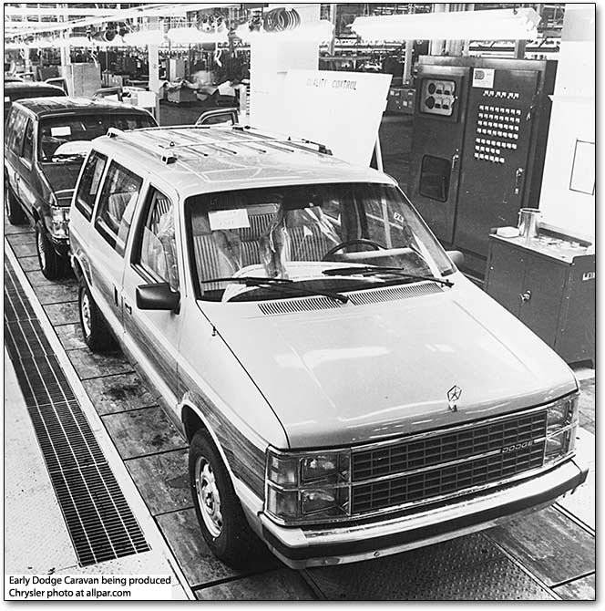Original Minivans 1984 91 Dodge Caravan Plymouth Voyager Chrysler