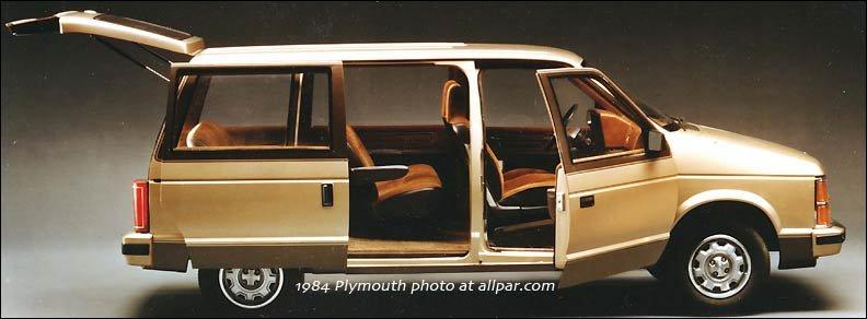 Original T-115 Minivans: 1984-91 Dodge Caravan, Plymouth Voyager, Chrysler  Town & Country | Allpar Forums