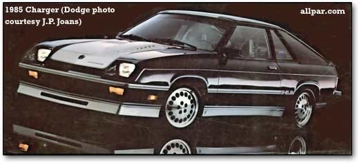 Dodge charger four cylinder turismo plymouth horizon tc3 and dodge omni o24