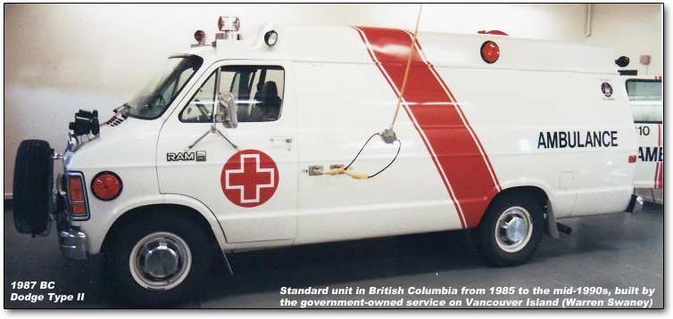 1987 British Columbia ambulance