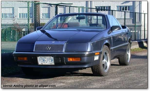 Car Of The Month December 2010 1987 Chrysler Lebaron