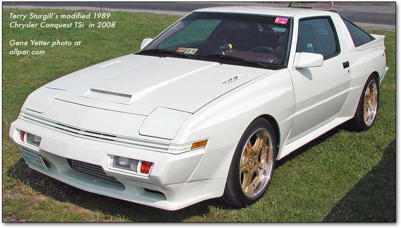 1989 chrysler conquest