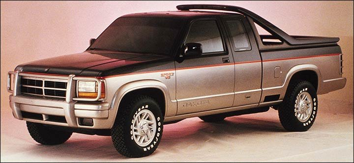 1989 Dodge Dakota Sport concept