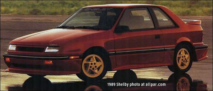 Dodge shelby csx