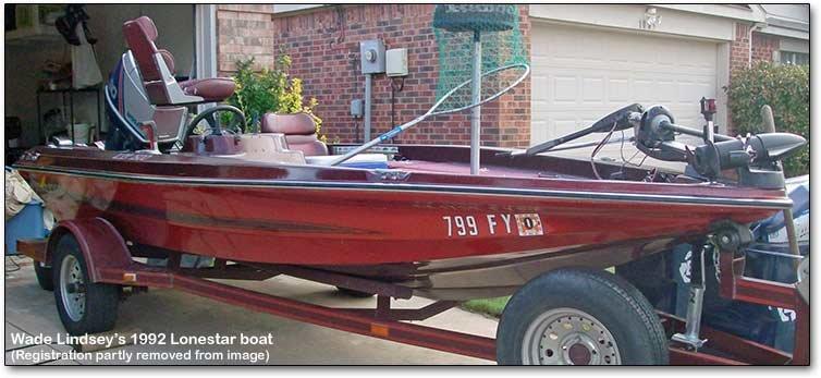 1992 lonestar boat