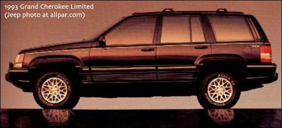 1993 grand cherokee limited