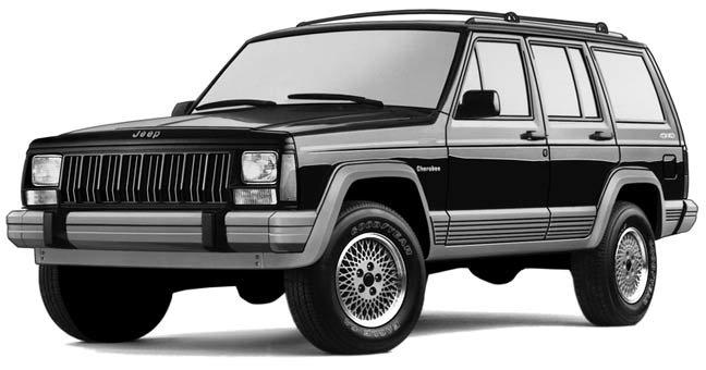 jeep cherokee xj 1993 factory service repair manual