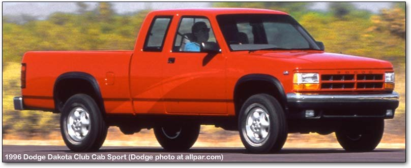 Dakota on 1996 Dodge Dakota Reliability