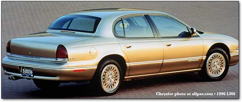 1996 Dodge Chrysler Plymouth And Jeep Changes