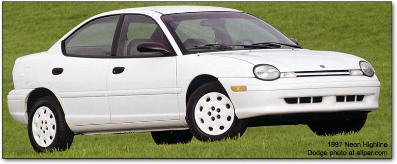 Chrysler plymouth and dodge neon technical review and information site