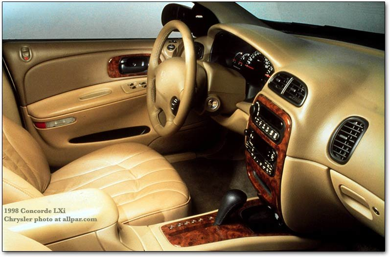 1998 chrysler concorde interior