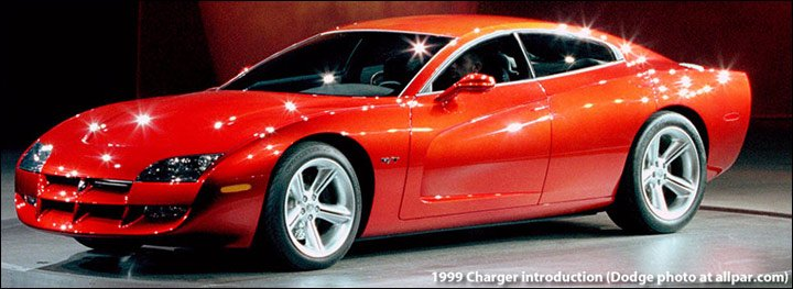The 1999 Dodge Charger R/T concept car