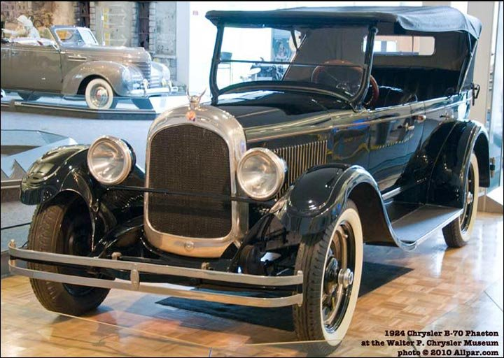 1924 Chrysler Six - original prototype car