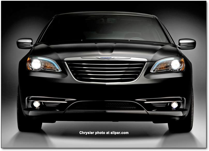 2011-2014 Chrysler 200 and 200 S cars