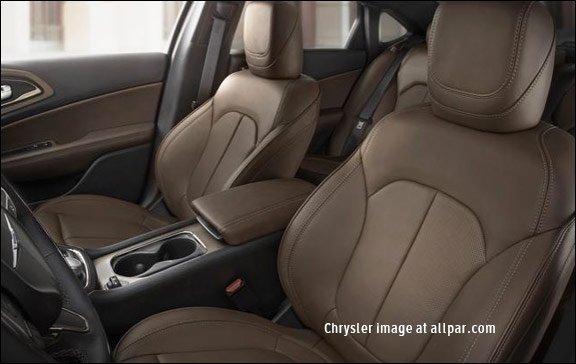 Chrysler 200 seats
