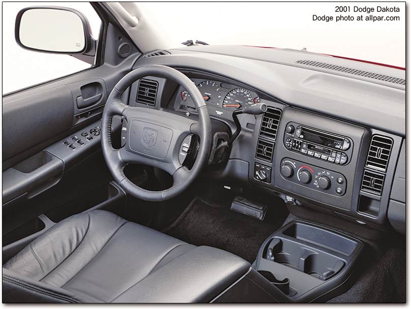 2001 Dodge Dakota Interior