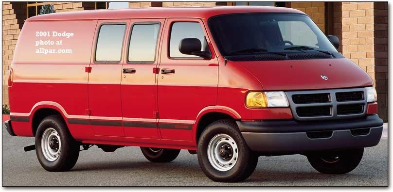 1b72587a54 2001 Dodge B3500 cargo van