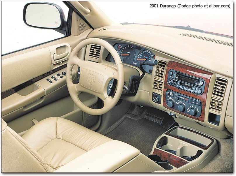 on 2003 Dodge Durango Slt
