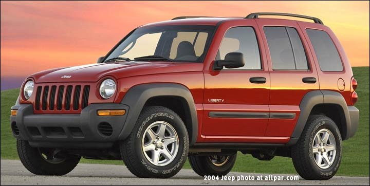 Jeep Liberty 20022004 European Cherokee Remake Of A