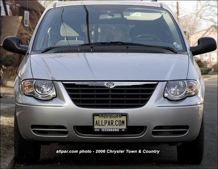 2006 chrysler minivans