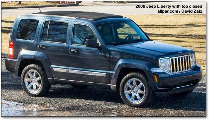 2008 Jeep Liberty : Jeep liberty car reviews