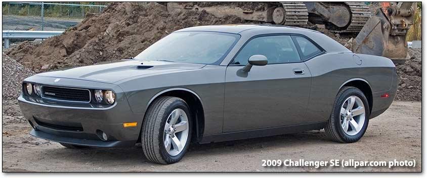 2009 dodge challenger se test drive. Black Bedroom Furniture Sets. Home Design Ideas