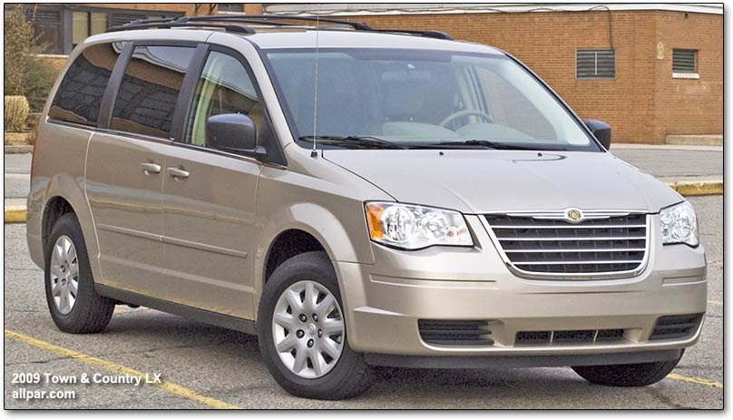 2009 chrysler town country dodge caravan minivan car. Black Bedroom Furniture Sets. Home Design Ideas