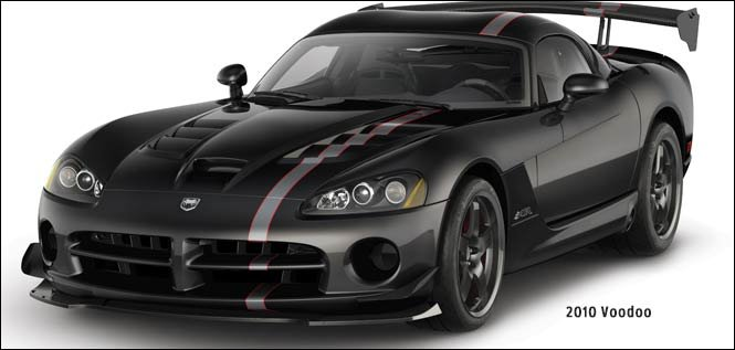 The 2017 Dodge Viper Special Editions