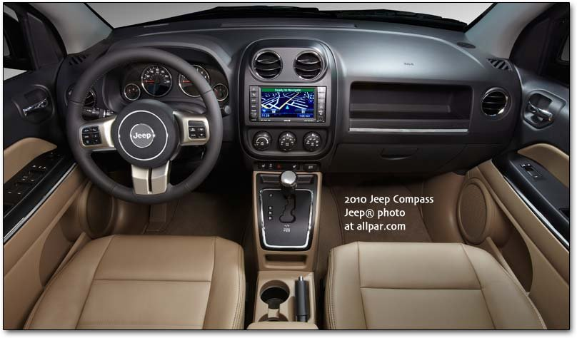 2011 Jeep Compass Dashboard
