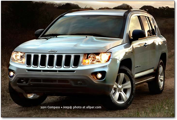 2011 Jeep Compass spy shot