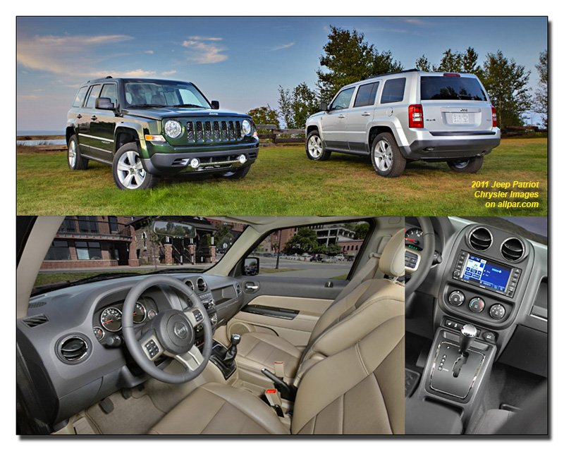 2011 Jeep Patriot collage