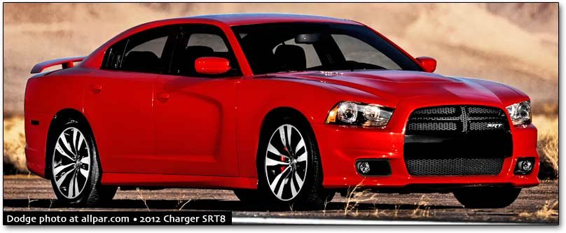 2012-2014 Dodge Charger SRT8: the hot sedan in its second generation