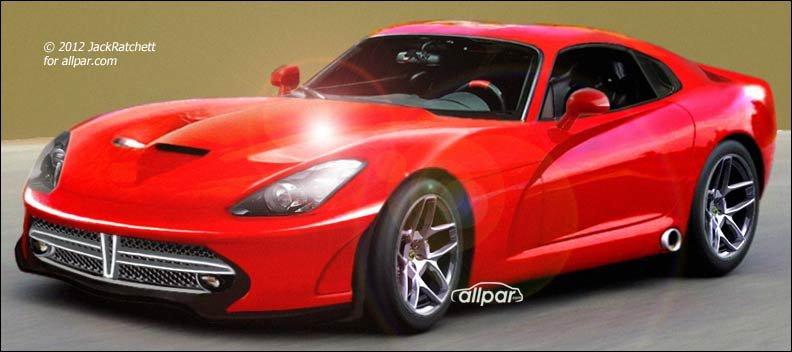 The 2013 Srt Viper From Dodge Renderings From Allpar Readers
