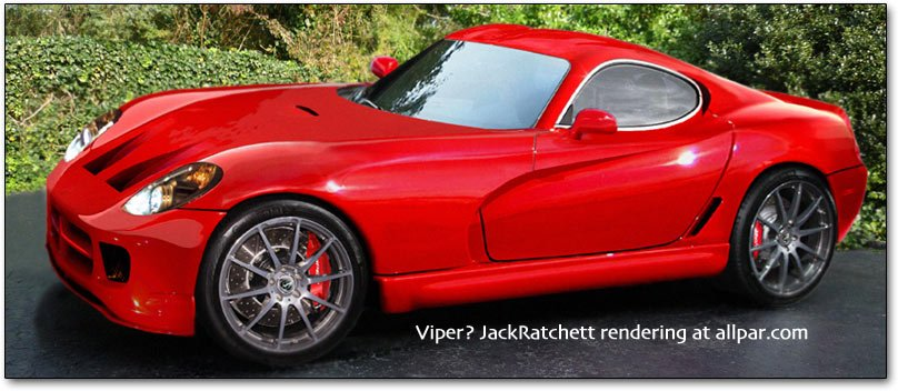 The 2013 Srt Viper From Dodge Renderings From Allpar Readers