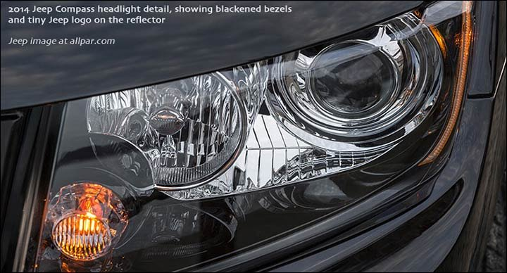 2014 jeep compass headlights