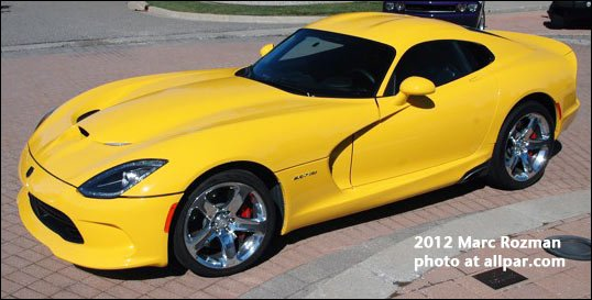 2014 Dodge Viper colors